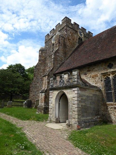 St Thomas à Becket, Brightling: tower