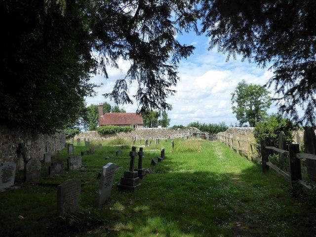 St Thomas à Becket, Brightling: churchyard (d)