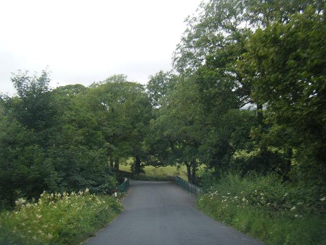 Lane at Lee Bridge