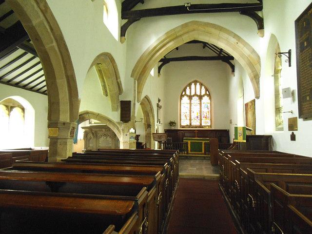 St John the Evangelist, Gressingham: nave