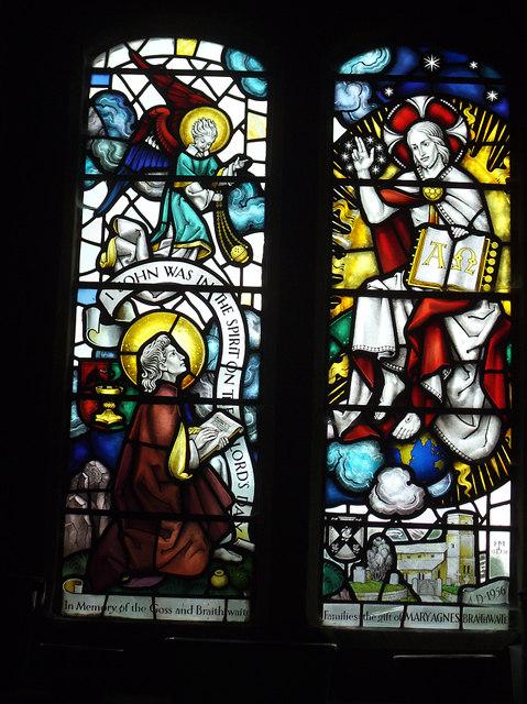 St John the Evangelist, Gressingham: Revelation window