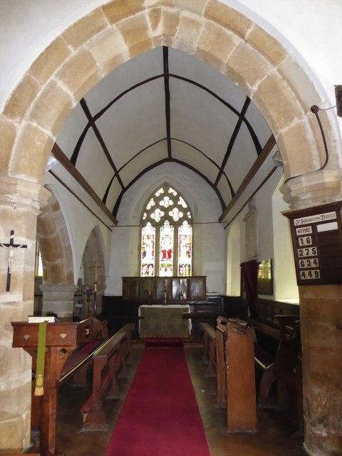 Inside St Thomas à Becket, Brightling  (iv)