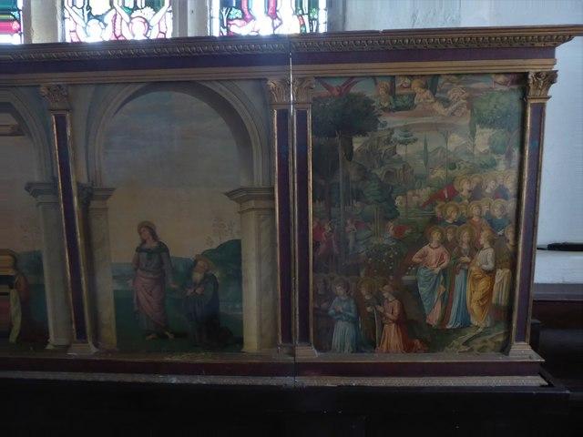 Inside St Thomas à Becket, Brightling  (vi)