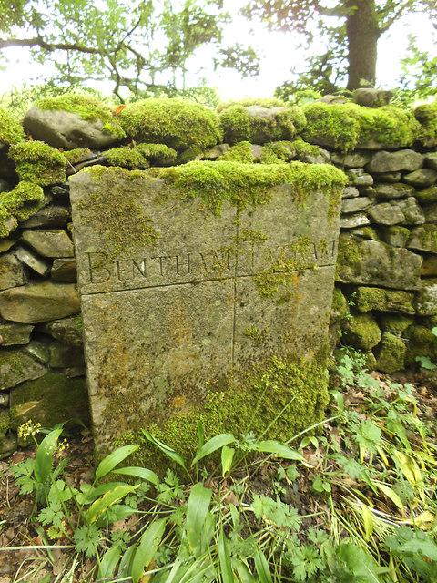 Parish boundary at Mewith