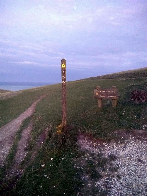 South Downs Way Footpath Sign