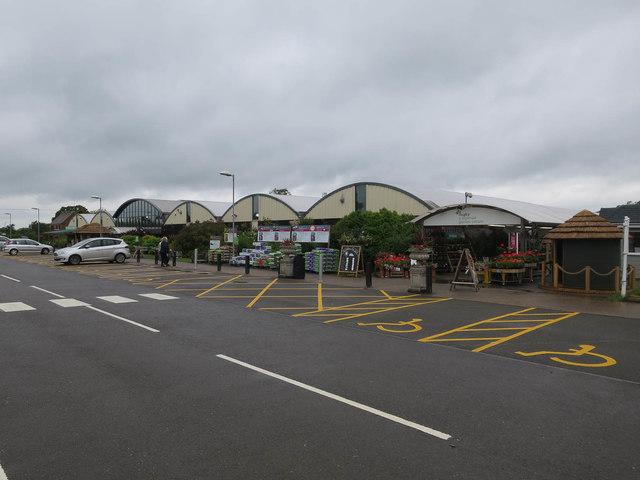 Wyevale garden centre, Rugby