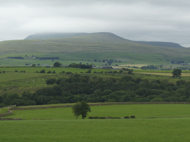 View of Ingleborough from Mewith Lane