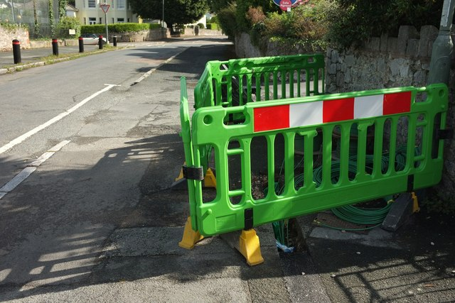 Barrier, St Margaret's Avenue, Torquay