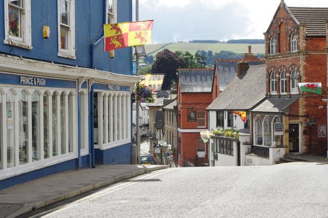 Broad Street, Knighton
