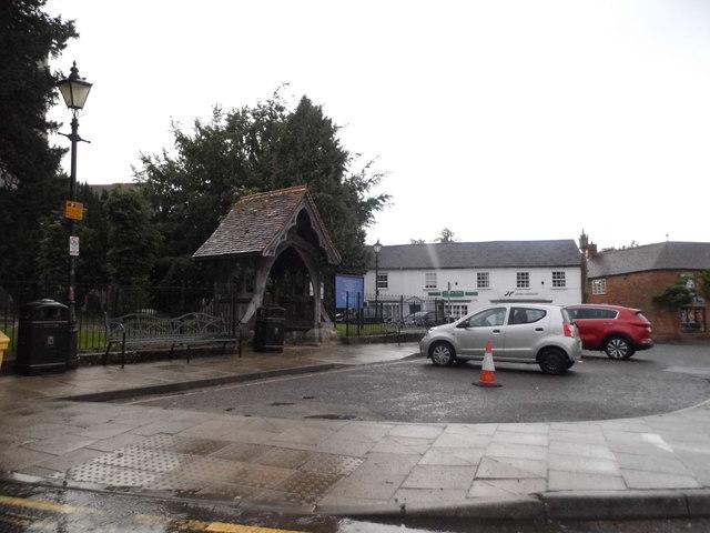 Car park by Lambourn Church