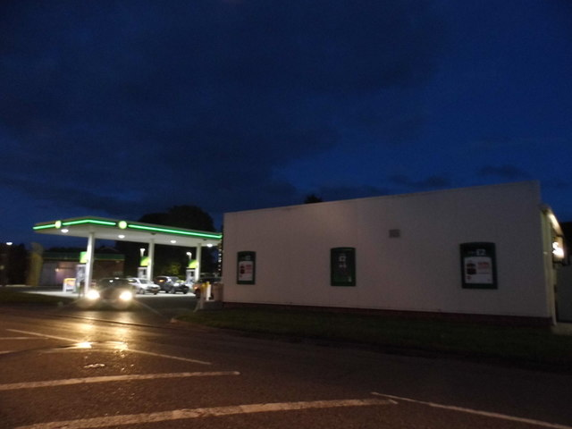 Petrol station on New Bath Road