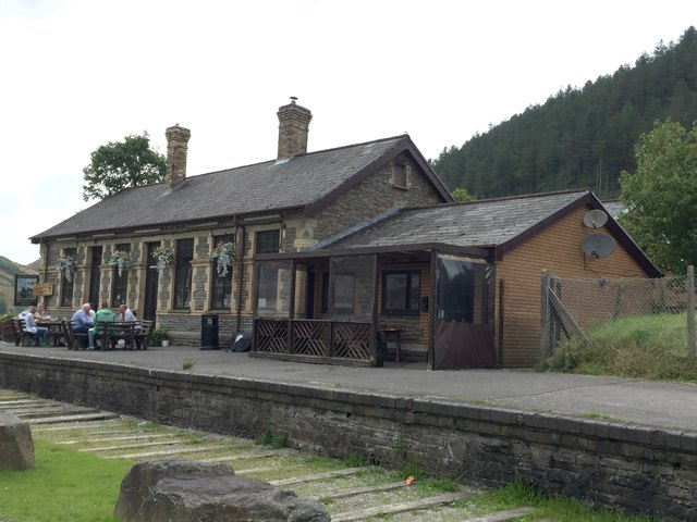 The Old Railway Station, Cymer