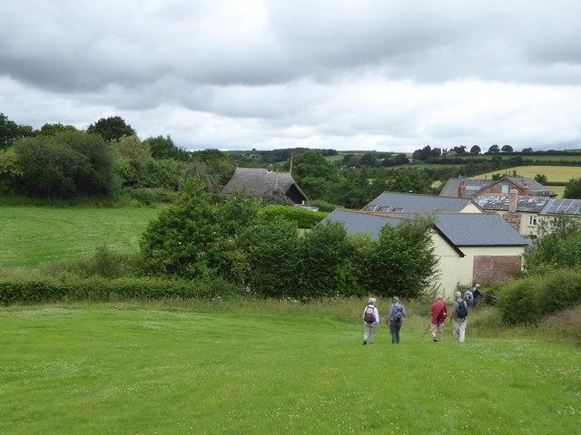 Descent to Gunstone Mill