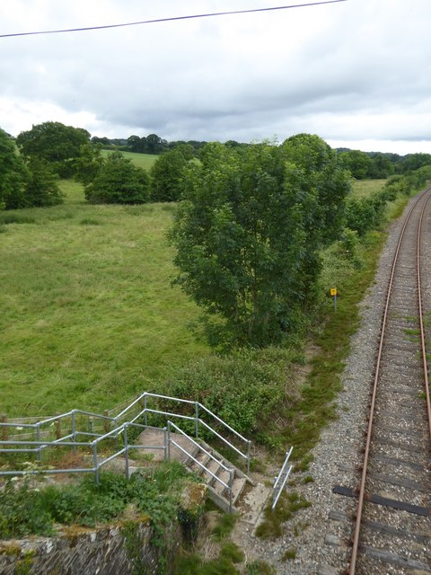 Emergency access to Tarka Line at Gunstone Mill