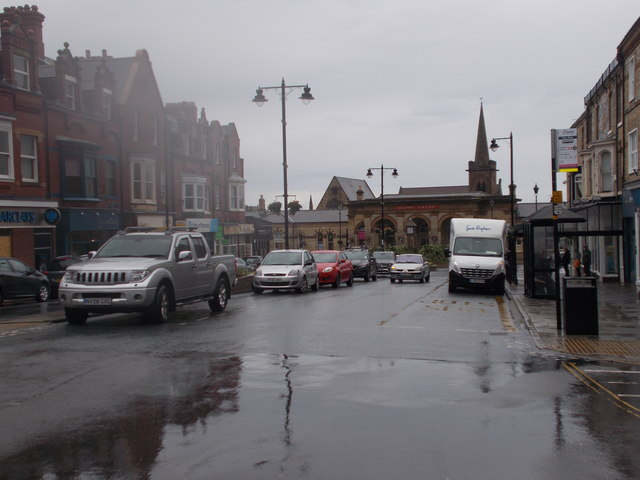 Station Road - viewed from Albion Place