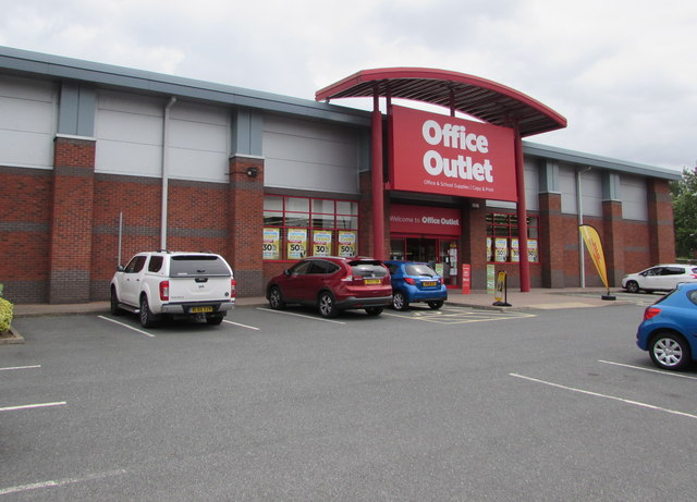 Office Outlet in Shrub Hill Retail Park, Worcester
