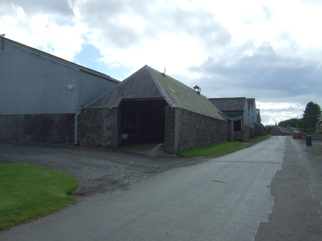 Farm buildings, Lintlaw