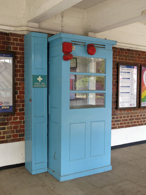 Sudbury Town tube station - ticket collector's booth