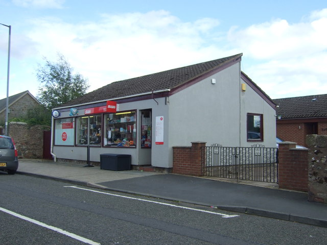 Post Office and shop, Chirnside
