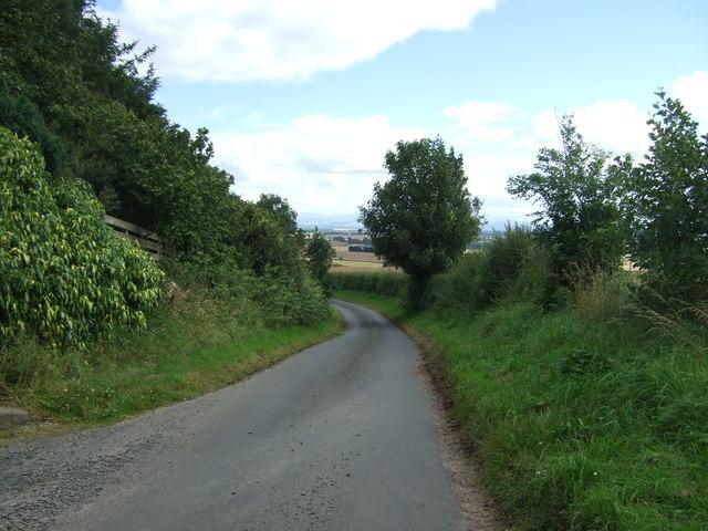 Minor road, Edingtonhill