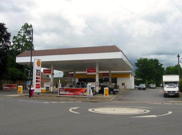 Shell Service Station, Golden Square, Henfield