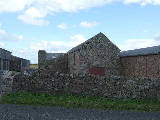 Farm buildings, West Foulden