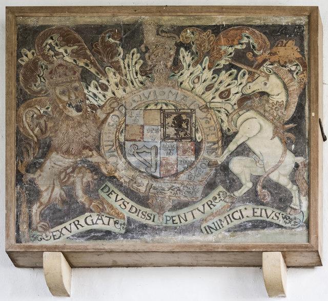 St Mary Magdalene, Hilton - Royal Arms