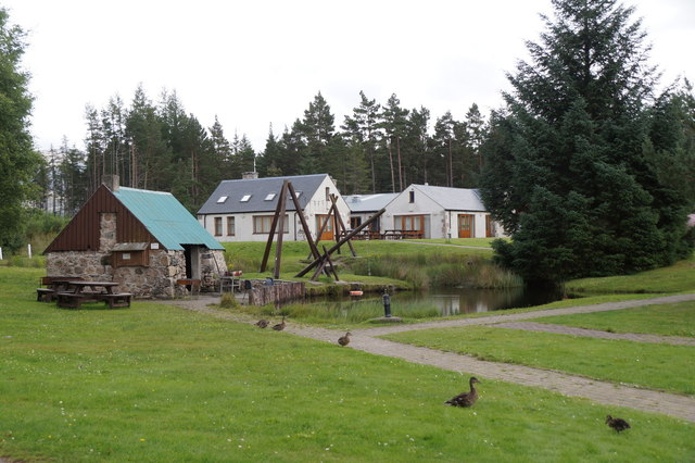Badaguish Outdoor Centre, Glen More