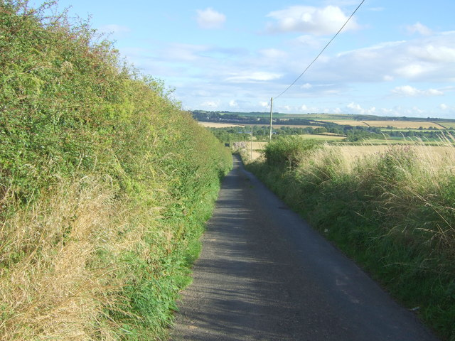 National Cycle Route 76 near High Letham
