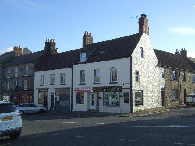 Shops on Castlegate