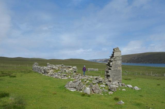 Corner Wall at Graveland