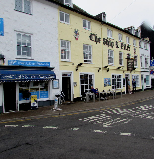 The Ship & Pilot pub, 10 Broad Street, Ilfracombe