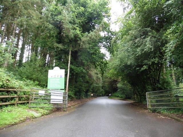 Entrance, Tiverton Recycling Centre