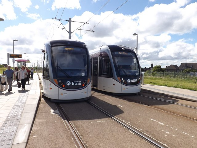 Saughton tram station