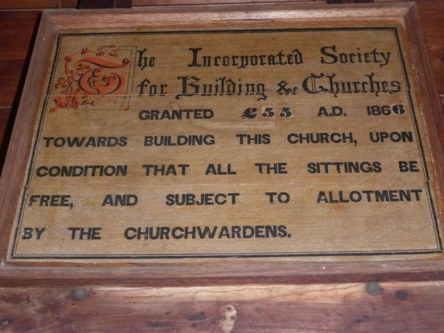 Inside St Philip, Burwash Weald (i)