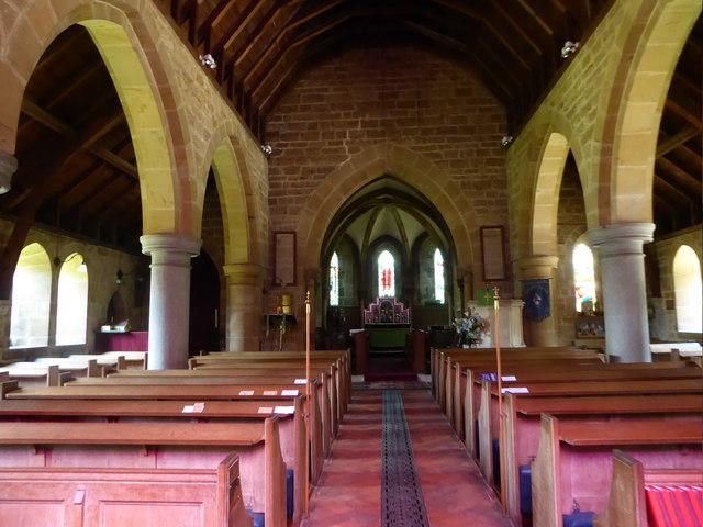 Inside St Philip, Burwash Weald (ii)