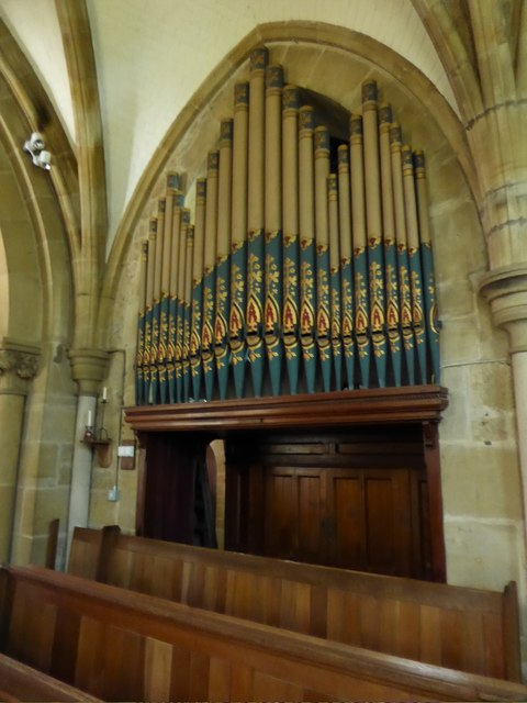 St Philip, Burwash Weald: organ