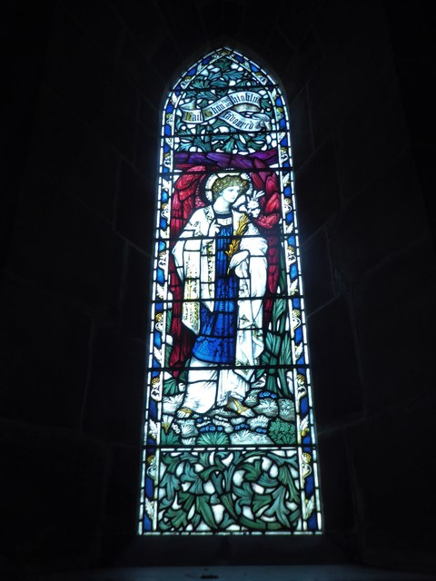 St Philip, Burwash Weald: stained glass window (G)