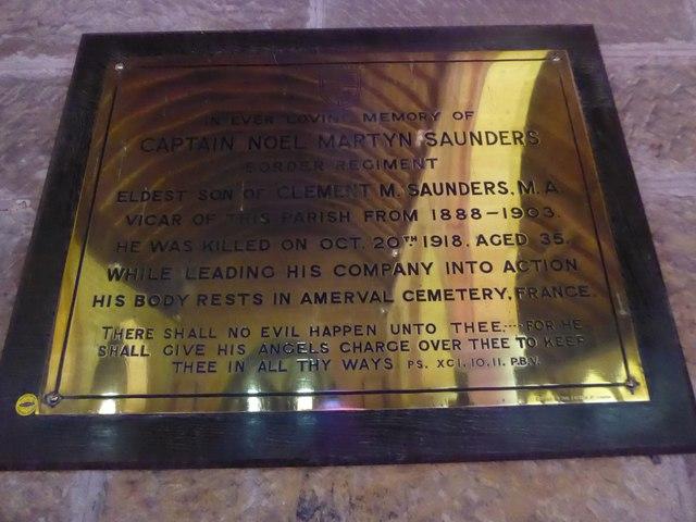 St Philip, Burwash Weald: memorial (5)