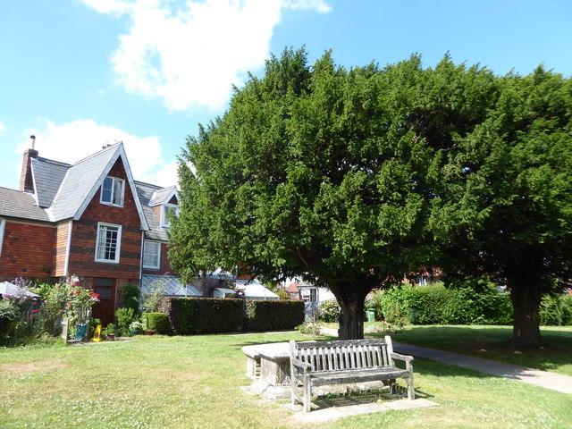 St Mary, Ticehurst: seat