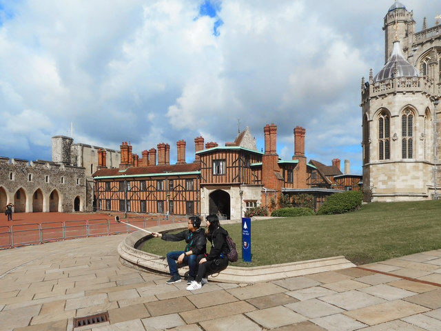 Selfie at the Castle