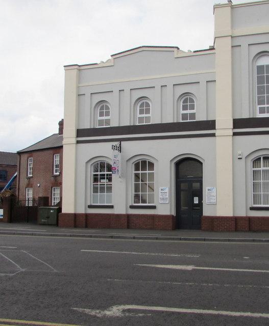 Deaf Direct office, Vesta Tilley House, Lowesmoor, Worcester