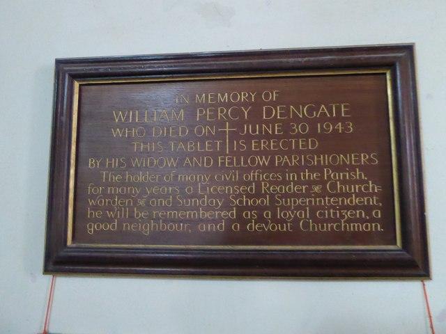 St Mary, Ticehurst: memorial (4)