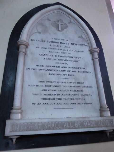 St Mary, Ticehurst: memorial (6)