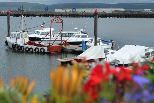 Pontoon, Stranraer Harbour