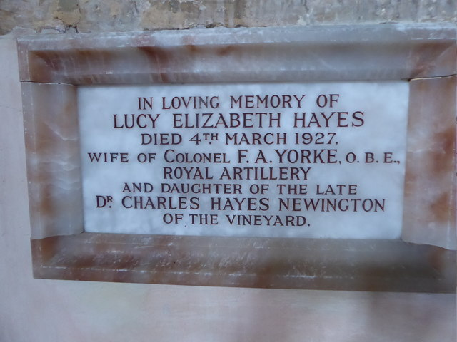St Mary, Ticehurst: memorial (11)