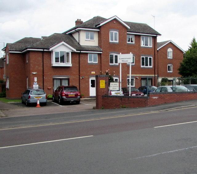 Lowesmoor House, Lowesmoor Place, Worcester