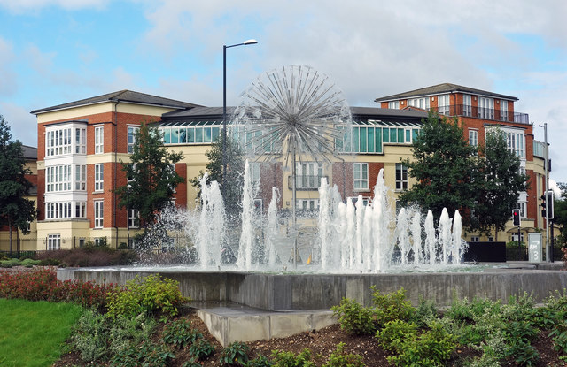 Queen Elizabeth Fountain