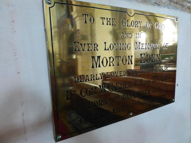 St Mary, Ticehurst: memorial (19)