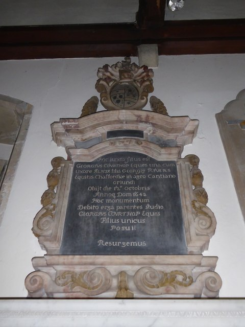 St Mary, Ticehurst: memorial (20)